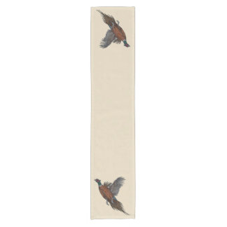 Pheasants in Flight Table Runner