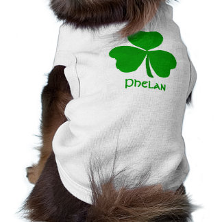 Phelan Irish Shamrock Name Shirt
