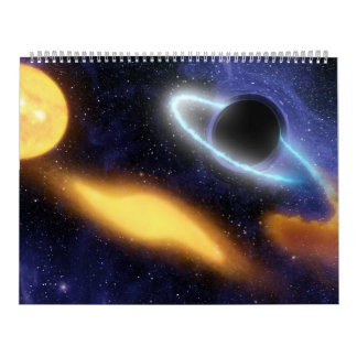 Phenomena in space 18mths wall calendar