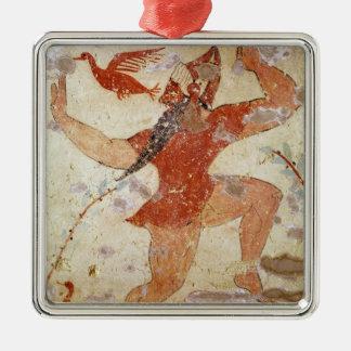 Phersu dancing christmas ornament