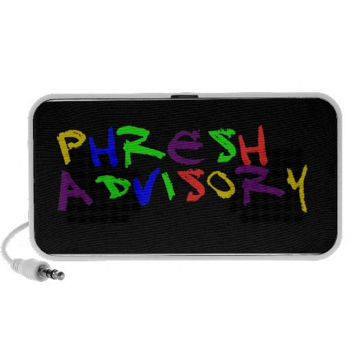 PHESH SOUNDS MAN! MP3 SPEAKERS