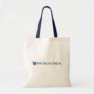 Phi Delta Theta - Blue Horizontal Logo 2 Tote Bags