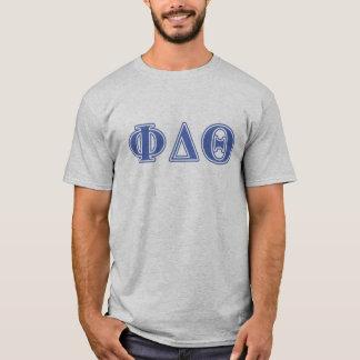 Phi Delta Theta Royal Blue Letters T-Shirt