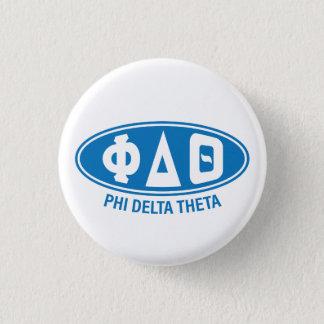 Phi Delta Theta | Vintage 3 Cm Round Badge