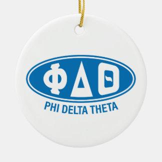 Phi Delta Theta | Vintage Christmas Ornament