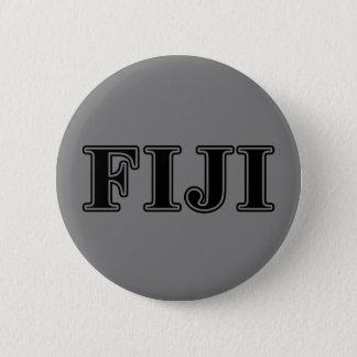 Phi Gamma Delta Black Letters 6 Cm Round Badge