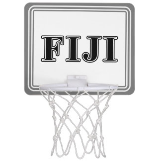 Phi Gamma Delta Black Letters Mini Basketball Hoop