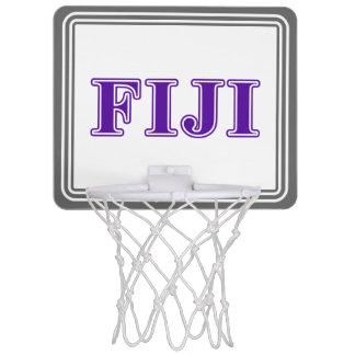 Phi Gamma Delta Purple Letters Mini Basketball Hoop