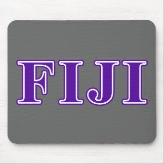 Phi Gamma Delta Purple Letters Mouse Mat