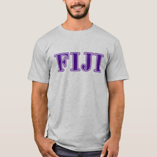 Phi Gamma Delta Purple Letters T-Shirt