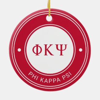 Phi Kappa Psi | Badge Christmas Ornament