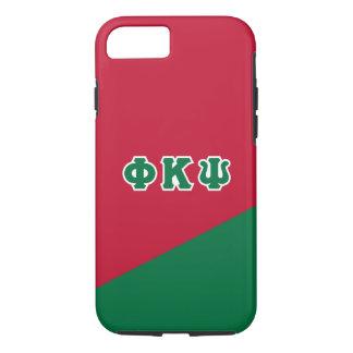 Phi Kappa Psi   Greek Letters iPhone 8/7 Case