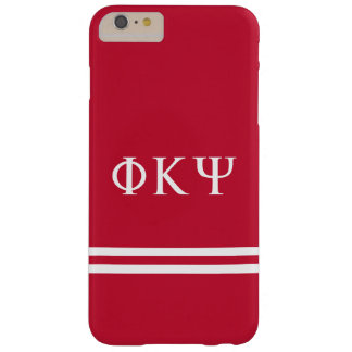 Phi Kappa Psi   Sport Stripe Barely There iPhone 6 Plus Case