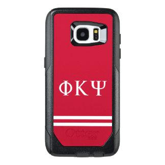 Phi Kappa Psi | Sport Stripe OtterBox Samsung Galaxy S7 Edge Case