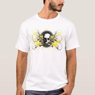 Phi Kappa Sigma 1850 Skull Stars Painted Graphic T T-Shirt
