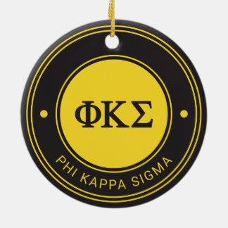 Phi Kappa Sigma | Badge Christmas Ornament