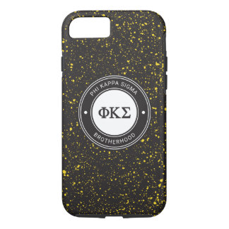 Phi Kappa Sigma   Badge iPhone 8/7 Case