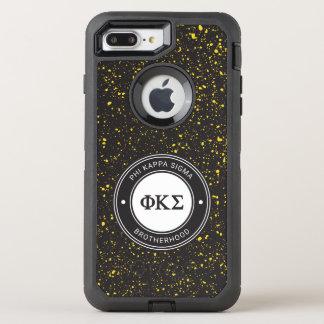 Phi Kappa Sigma | Badge OtterBox Defender iPhone 8 Plus/7 Plus Case