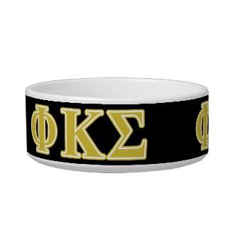 Phi Kappa Sigma Gold Letters Bowl