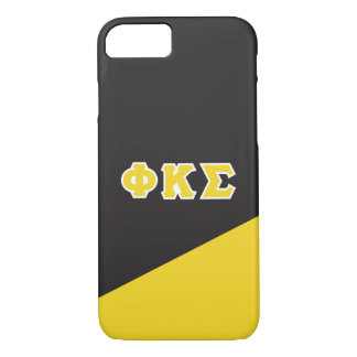 Phi Kappa Sigma   Greek Letters iPhone 8/7 Case