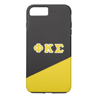 Phi Kappa Sigma   Greek Letters iPhone 8 Plus/7 Plus Case