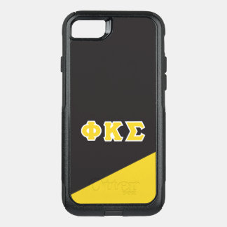 Phi Kappa Sigma | Greek Letters OtterBox Commuter iPhone 8/7 Case