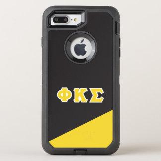 Phi Kappa Sigma | Greek Letters OtterBox Defender iPhone 8 Plus/7 Plus Case