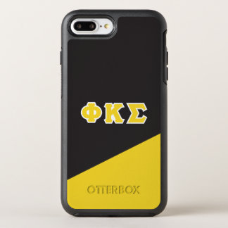 Phi Kappa Sigma | Greek Letters OtterBox Symmetry iPhone 8 Plus/7 Plus Case