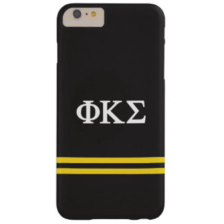Phi Kappa Sigma   Sport Stripe Barely There iPhone 6 Plus Case
