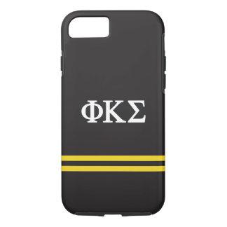 Phi Kappa Sigma   Sport Stripe iPhone 8/7 Case