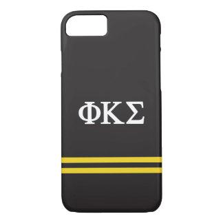 Phi Kappa Sigma | Sport Stripe iPhone 8/7 Case