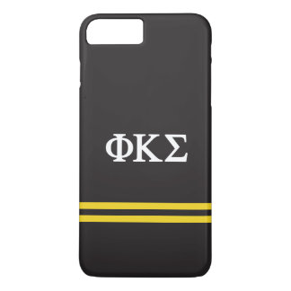 Phi Kappa Sigma   Sport Stripe iPhone 8 Plus/7 Plus Case