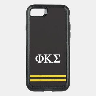 Phi Kappa Sigma   Sport Stripe OtterBox Commuter iPhone 8/7 Case