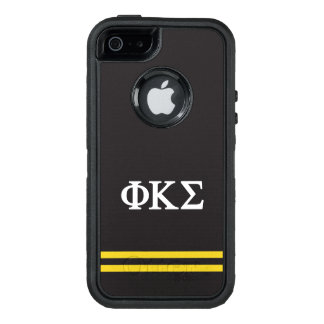 Phi Kappa Sigma | Sport Stripe OtterBox Defender iPhone Case