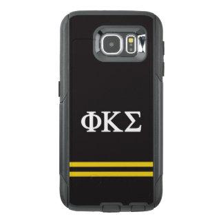 Phi Kappa Sigma | Sport Stripe OtterBox Samsung Galaxy S6 Case