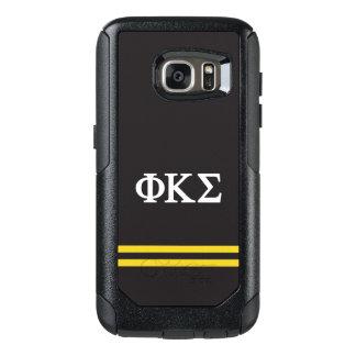 Phi Kappa Sigma | Sport Stripe OtterBox Samsung Galaxy S7 Case
