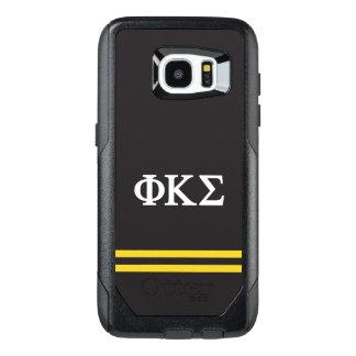 Phi Kappa Sigma | Sport Stripe OtterBox Samsung Galaxy S7 Edge Case