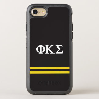 Phi Kappa Sigma | Sport Stripe OtterBox Symmetry iPhone 8/7 Case