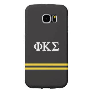 Phi Kappa Sigma | Sport Stripe Samsung Galaxy S6 Cases