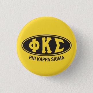 Phi Kappa Sigma   Vintage 3 Cm Round Badge