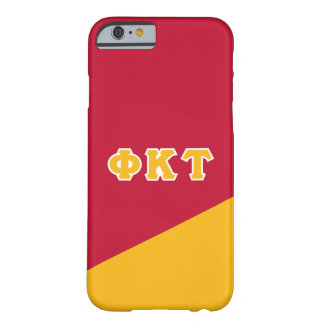 Phi Kappa Tau | Greek Letters Barely There iPhone 6 Case