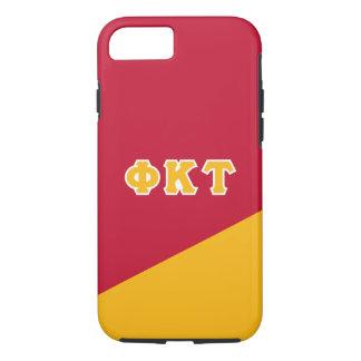 Phi Kappa Tau | Greek Letters iPhone 8/7 Case