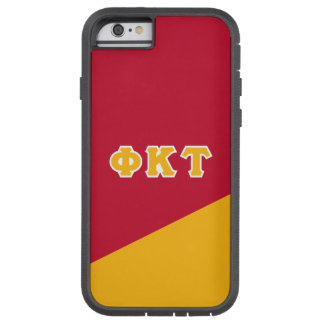 Phi Kappa Tau | Greek Letters Tough Xtreme iPhone 6 Case