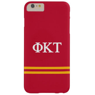 Phi Kappa Tau | Sport Stripe Barely There iPhone 6 Plus Case