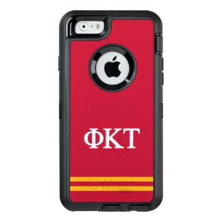 Phi Kappa Tau | Sport Stripe OtterBox Defender iPhone Case
