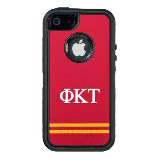 Phi Kappa Tau | Sport Stripe OtterBox iPhone 5/5s/SE Case