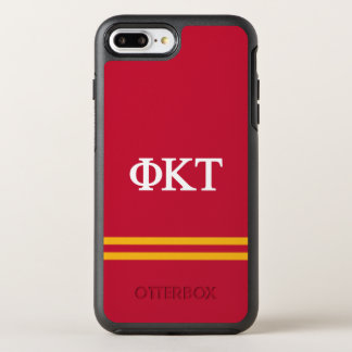 Phi Kappa Tau | Sport Stripe OtterBox Symmetry iPhone 7 Plus Case