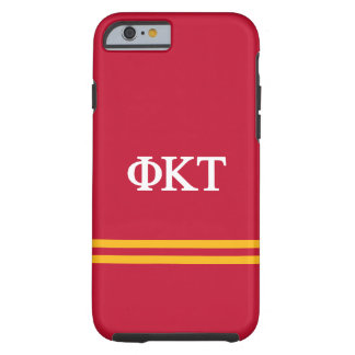 Phi Kappa Tau | Sport Stripe Tough iPhone 6 Case