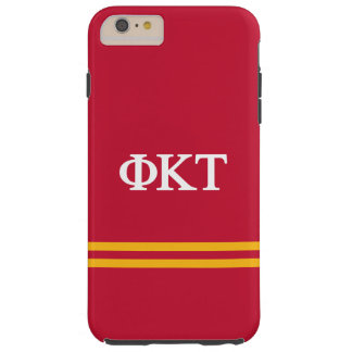 Phi Kappa Tau | Sport Stripe Tough iPhone 6 Plus Case