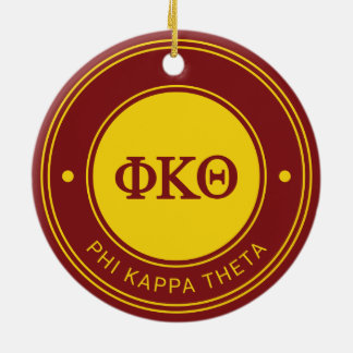 Phi Kappa Theta | Badge Christmas Ornament